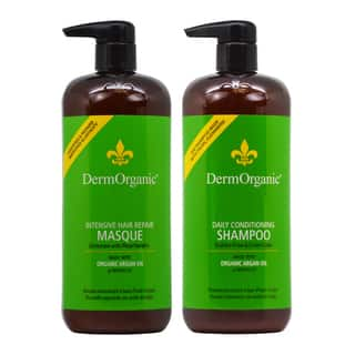 DermOrganic 33.8-ounce Shampoo and Masque Duo|https://ak1.ostkcdn.com/images/products/17404839/P23642464.jpg?impolicy=medium