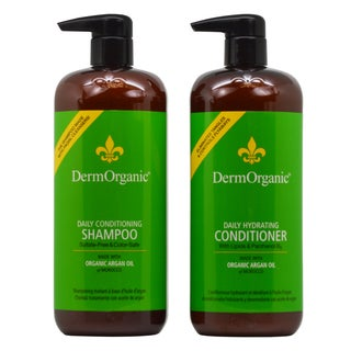 DermOrganic Daily Conditioning 33.8-ounce Shampoo & Hydrating Conditioner Duo
