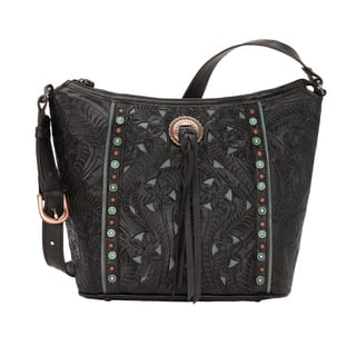 American West Hill Country Black Tote Bag|https://ak1.ostkcdn.com/images/products/17404850/P23642466.jpg?impolicy=medium