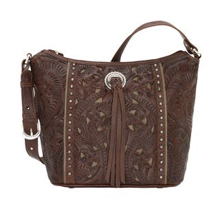 American West Hill Country Bucket Tote Bag|https://ak1.ostkcdn.com/images/products/17404854/P23642468.jpg?impolicy=medium