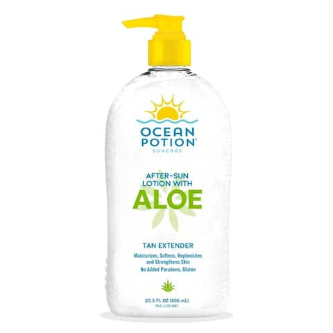 Ocean Potion Moisturizing Aloe Lotion After Sun