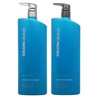 Keratin Complex Keratin Color Care 33.8-ounce Shampoo & Conditioner Duo
