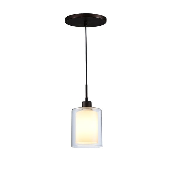 Woodbridge Lighting 14723MEB Alaina 1-light Mini-Pendant
