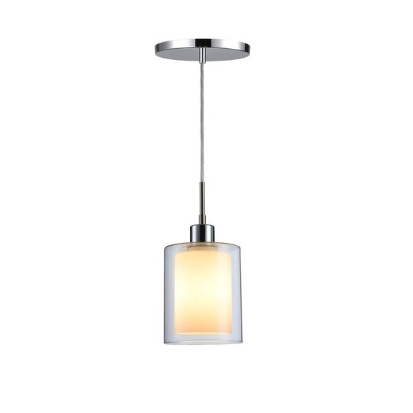 Woodbridge Lighting 14723CHR Alaina 1-light Mini-Pendant