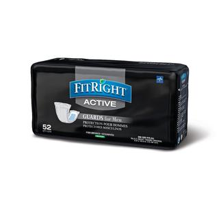 Medline FitRight 6 x 11-inch Active Male Guards (208 Count)