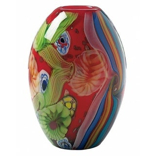 Freedom Colorful Artistic Glass Vase