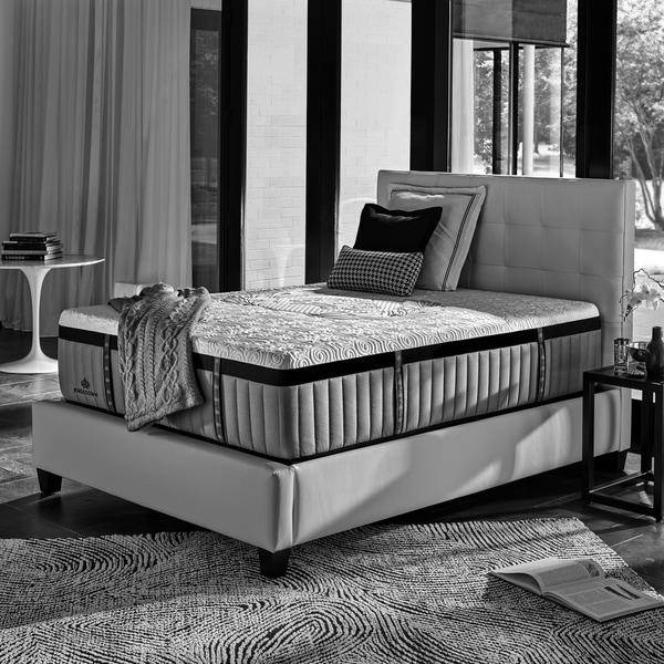 Kingsdown Crown Imperial Crest 15-inch Luxury Hybrid Mattress Set. Opens flyout.