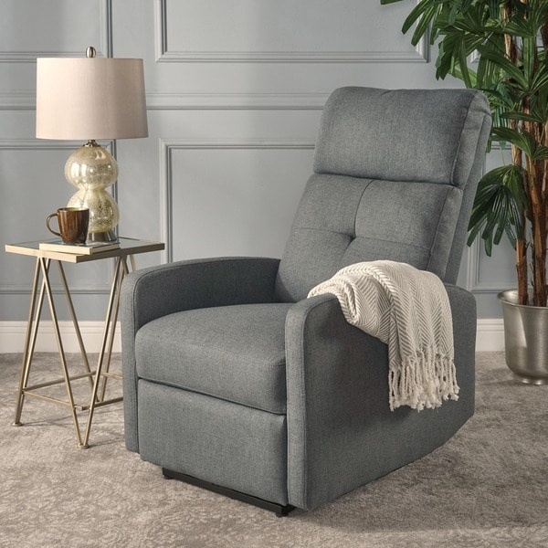 niran fabric power recliner by christopher knight home free shipping today