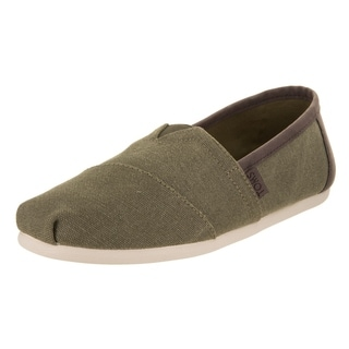Toms Men's Classic Olive Washed Casual Shoe