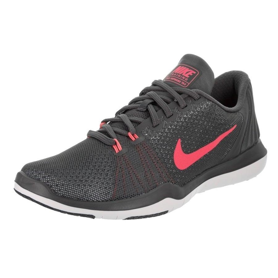 Nike Women's Flex Supreme Tr 5 Training Shoe (9), Grey (S...
