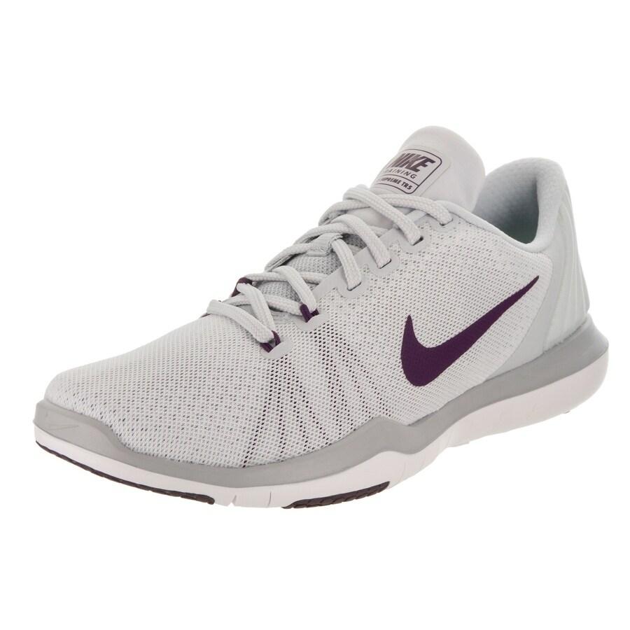 Nike Women's Flex Supreme Tr 5 Training Shoe (10), White ...
