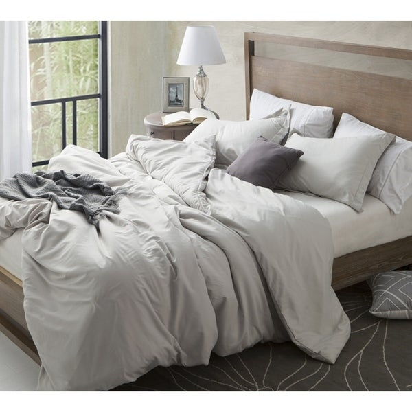 Charmant Duvet Cover Silver Birch Supersoft Bedding