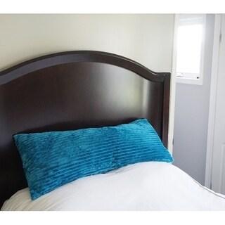 Body Pillow Textured Comfort - Ocean Depths Teal