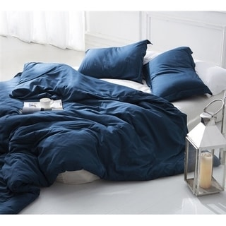 Duvet Cover Nightfall Navy Supersoft Bedding