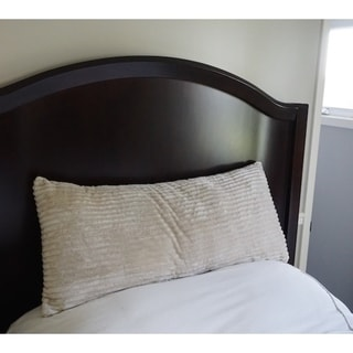 Body Pillow Textured Comfort - Almond