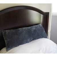 Body Pillow Textured Comfort - Granite Gray
