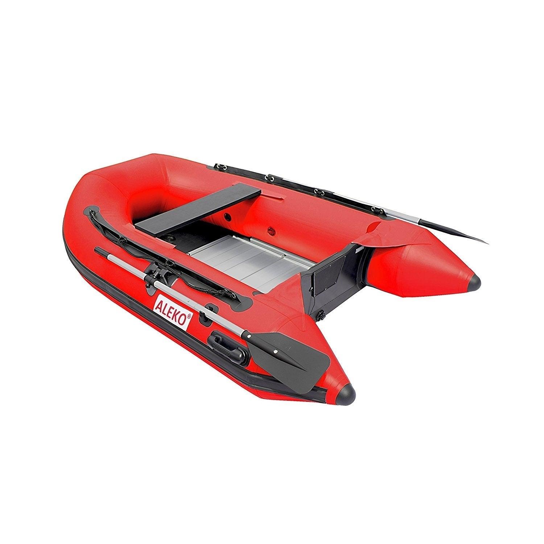 "Aleko Inflatable 8' 4"" with Aluminum Floor 3 Person Raft ..."