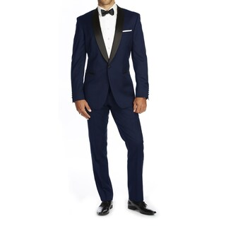 Braveman Men's Slim Fit Shawl Lapel Runway Tuxedo (More options available)