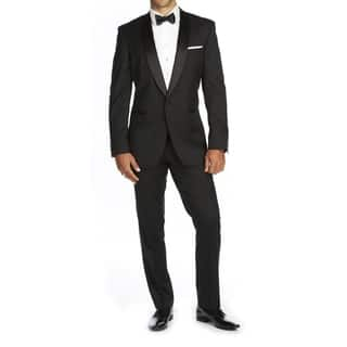 Braveman Men's Shawl Lapel Runway Tuxedo|https://ak1.ostkcdn.com/images/products/17412353/P23649290.jpg?impolicy=medium