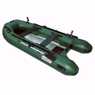 ALEKO Inflatable 12.5' Aluminum Floor 6 Prs Raft Fishing PRO Boat