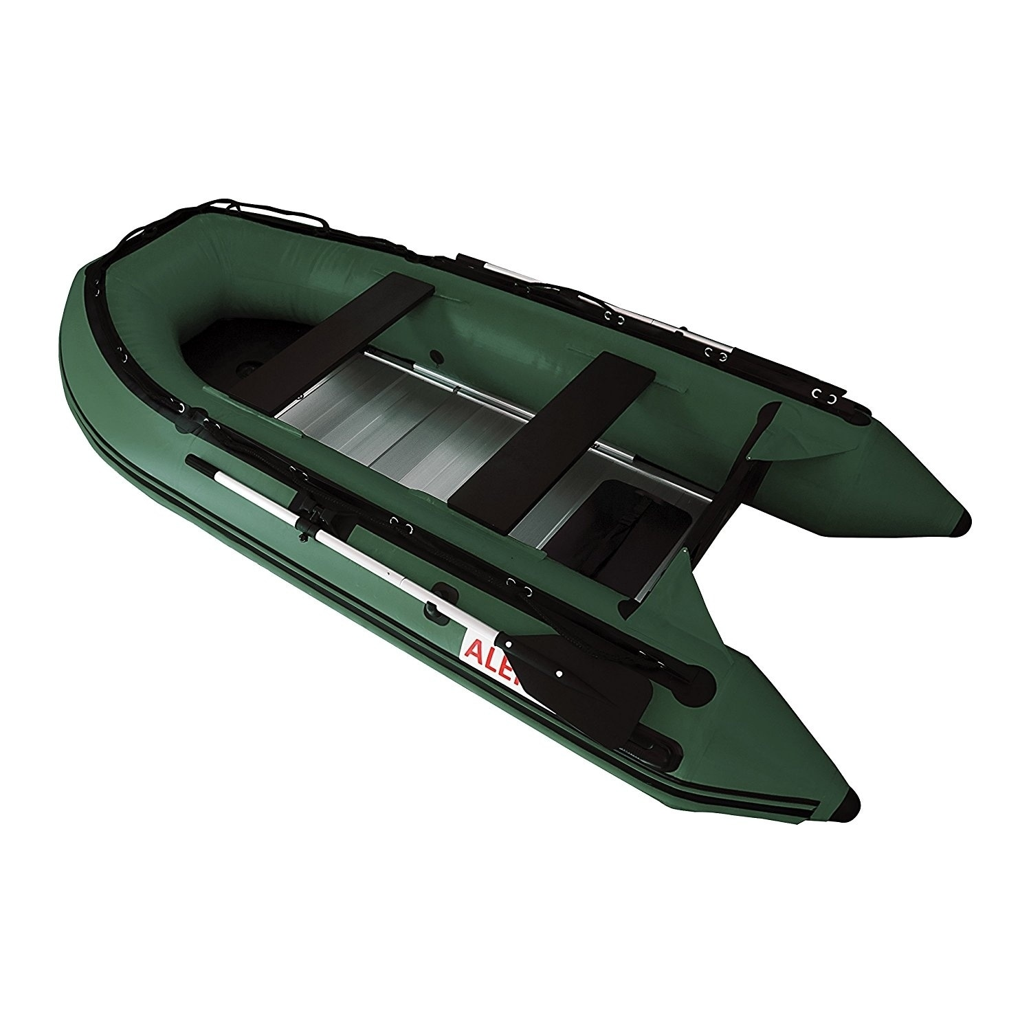 Aleko Inflatable 10.5' with Aluminum Floor 4 Person Raft ...
