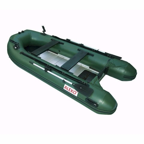 ALEKO Inflatable 10.5' with Aluminum Floor 4 Prs Raft Fishing PRO Boat