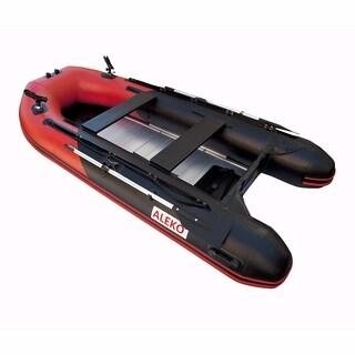 ALEKO Inflatable 10.5' with Aluminum Floor 4 Prs Raft Fishing PRO Boat
