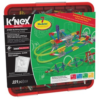 K'NEX Education Intro To Simple Machines: Wheels, Axles, & Inclined Planes Set