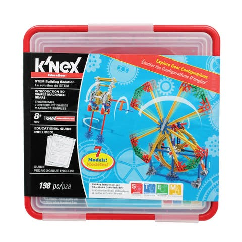 K'NEX Education Intro To Simple Machines: Gears Set