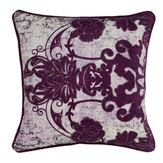 Leila Plum Velvet 18-inch Square Down and Feather Throw Pillow|https://ak1.ostkcdn.com/images/products/17412764/P23649391.jpg?impolicy=medium