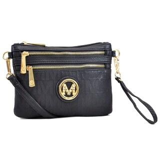 Milan Monogram Logo Crossbody Handbag