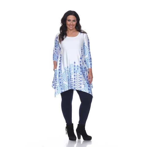 White Mark Plus Size 'Rella' Tunic