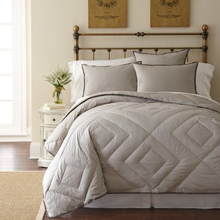 Pendleton Primaloft Vintage Wash Grey All Season Lightweight Comforter