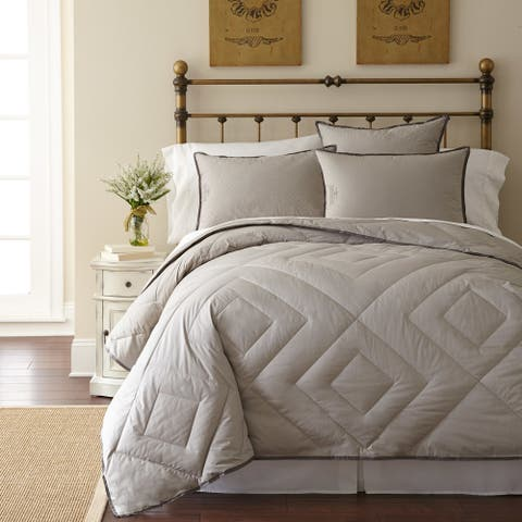 Pendleton Primaloft Vintage Wash Grey All Season Lightweight Comforter