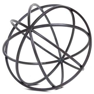 American Art Decor Metal Orb Dyson Sphere Decor Sculpture (Small)