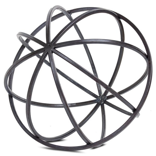 Fresh Metal Orb Dyson Sphere Decor Sculpture (Large) - Free Shipping On  HY87