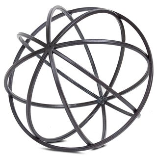 American Art Decor Metal Orb Dyson Sphere Decor Sculpture (Large)