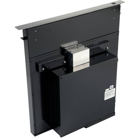Broan Eclipse 36 In. 500 CFM Downdraft Blower System with Stainless Steel Cover