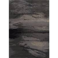 """eCarpetGallery Chateau Grey  Rug (5'5 x 7'9) - 5'5"""" x 7'9"""""""