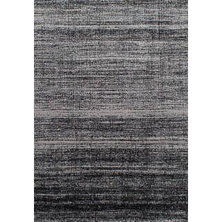 eCarpetGallery Chateau Black, Grey Rug (5'5 x 7'9)