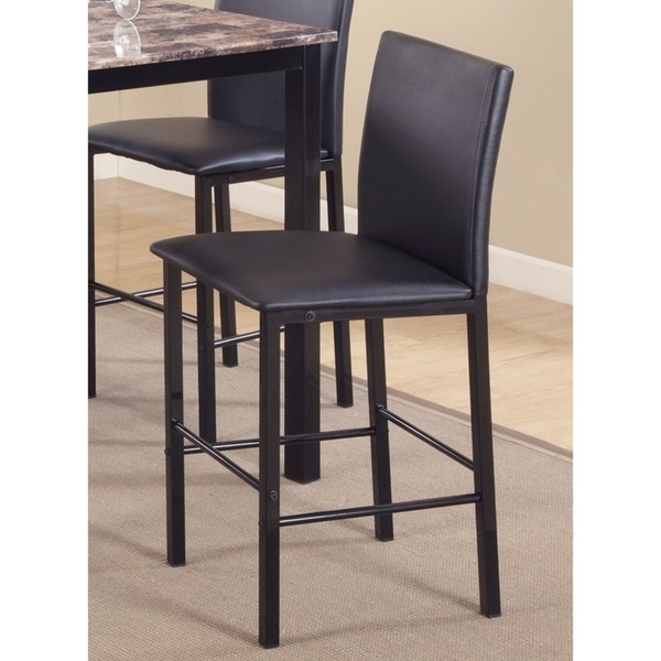 Shop Citico Metal Counter Height Dining Chairs With Metal