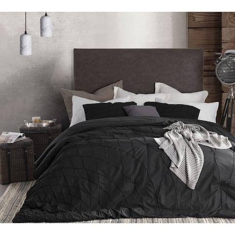 BYB Twist Texture Comforter - Black