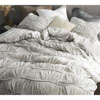 Motley Texture Duvet Cover - Light Gray
