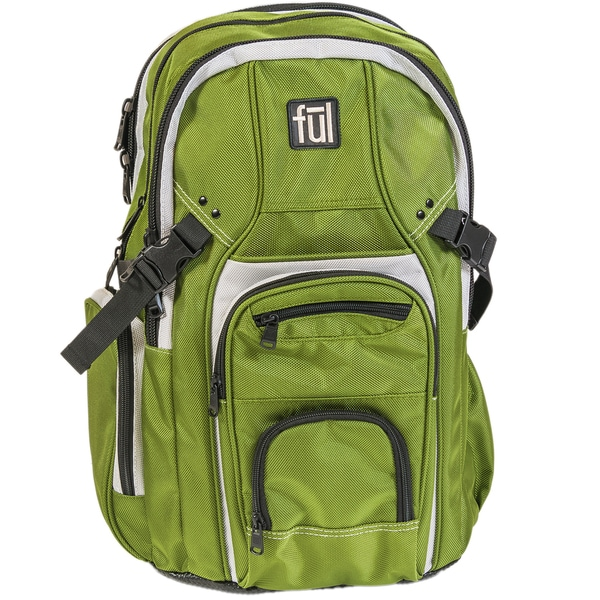Ful TMan Olive Laptop Backpack for up to 17-inch Laptops. Opens flyout.
