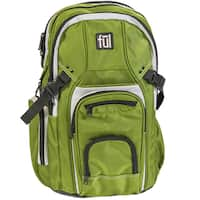 Ful TMan Olive Laptop Backpack for up to 17-inch Laptops