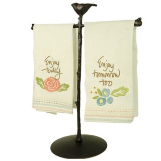 TAG Enjoy Todat Towel & Holder Set
