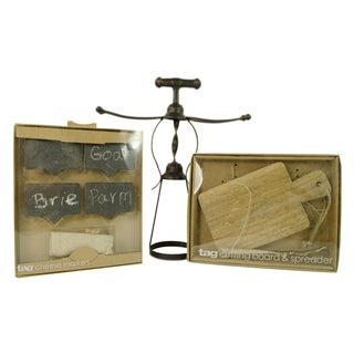 TAG Wine and Cheese Serving Set