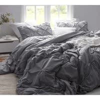 Alloy Pin Tuck Duvet Cover
