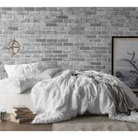 White Pin Tuck Duvet Cover