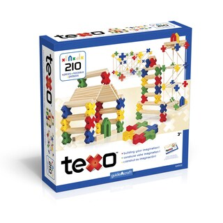 Guidecraft Texo® 210 Piece Set